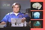 Still frame from HeatVision and Jack starring Jack Black