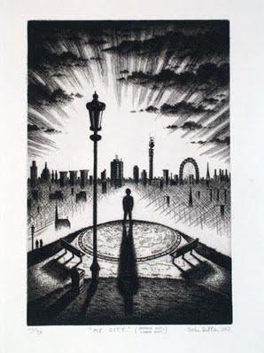John Duffin - My City - artfinder com product my-city