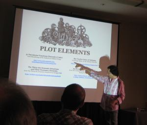 "Greg presents ""The Writer's Tool Kit"" at Story Expo LA"