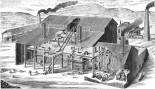 smelting factory construction cutaway-langleyssanfranc1891sanf_0020-hz bw-crop