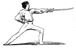 sword lunge profile R-everyboysbookcom00routrich_0250
